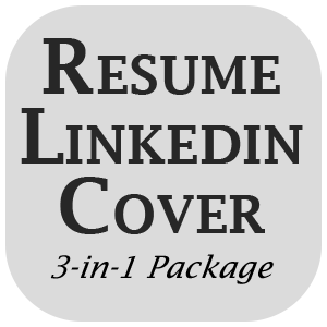 3 in 1 package resume linkedin profile cover letter best deal